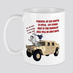 Special Delivery Warning via Hummer Mug