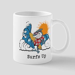 Surfs Up Shark Mugs