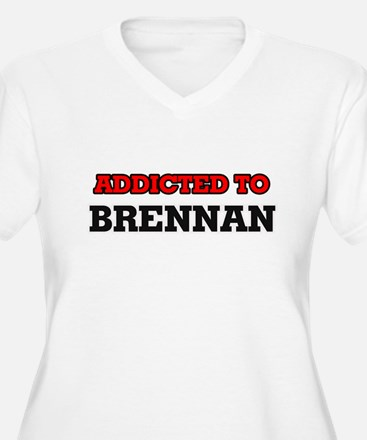 Addicted to Brennan Plus Size T-Shirt