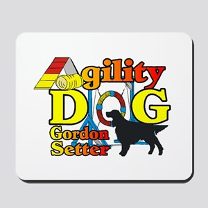 Gordon Setter Agility Mousepad