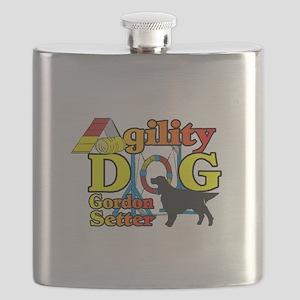 Gordon Setter Agility Flask