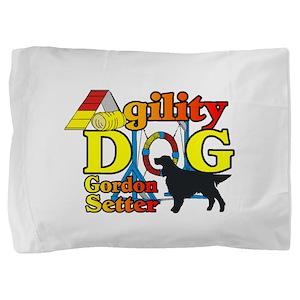 Gordon Setter Agility Pillow Sham