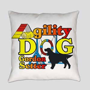 Gordon Setter Agility Everyday Pillow