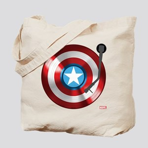 Captain America Vinyl Shield Tote Bag