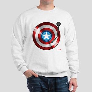 Captain America Vinyl Shield Sweatshirt