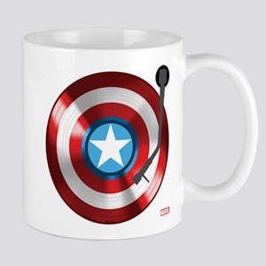 Captain America Vinyl Shield Mug