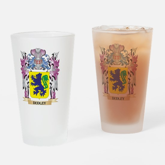 Dudley Coat of Arms (Family Crest) Drinking Glass