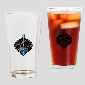 JASON-3 Launch Team Drinking Glass