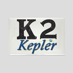 Kepler K2 Mission Logo Rectangle Magnet