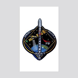 JASON-3 Launch Team Sticker (Rectangle)