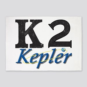 Kepler K2 Mission Logo 5'x7'Area Rug