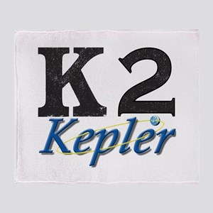 Kepler K2 Mission Logo Throw Blanket