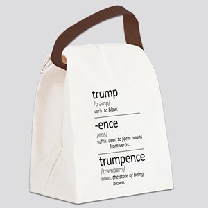 Trumpence Definition Canvas Lunch Bag