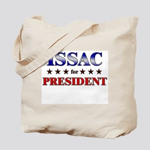 ISSAC for president Tote Bag