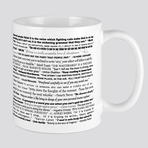 3-writingquotes Mugs