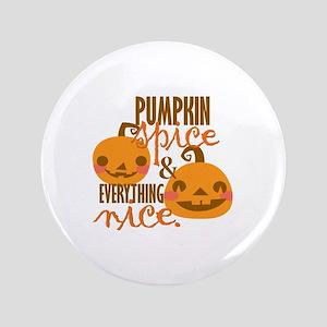 Pumpkin Spice Button