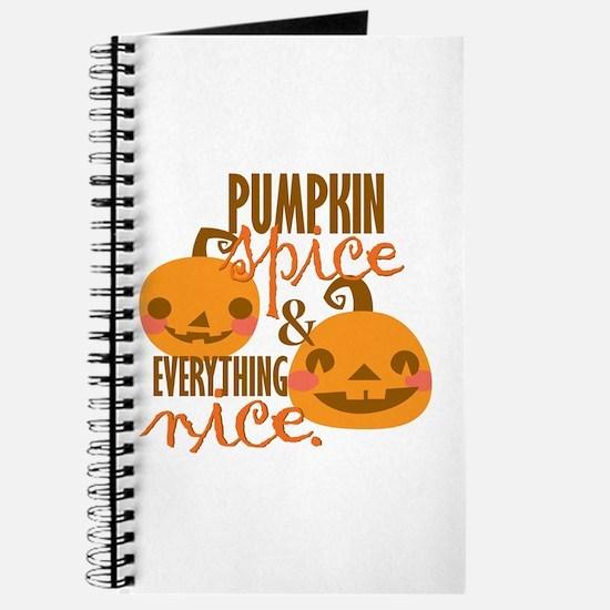 Pumpkin Spice Journal