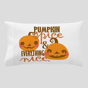 Pumpkin Spice Pillow Case