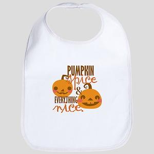 Pumpkin Spice Bib