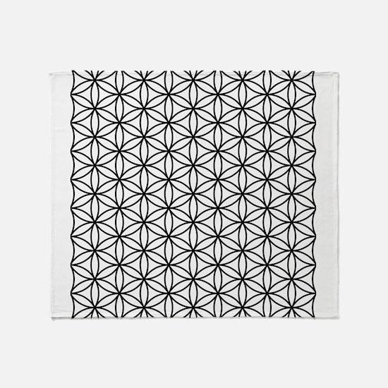 Funny Sacred geometry Throw Blanket