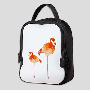 FLAMINGOS Neoprene Lunch Bag