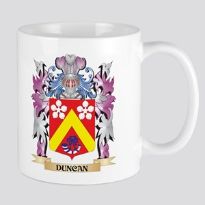 Duncan Coat of Arms (Family Crest) Mugs