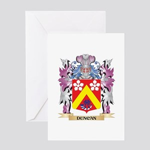Duncan Coat of Arms (Family Crest) Greeting Cards