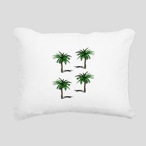 PALMS Rectangular Canvas Pillow