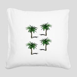 PALMS Square Canvas Pillow