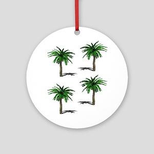 PALMS Round Ornament