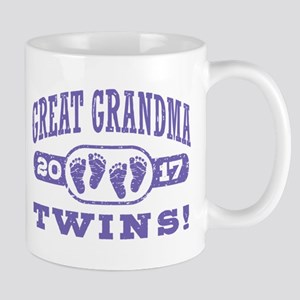 Great Grandma 2017 Twins Mug