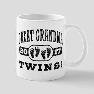Great Grandma 2017 Twins Mug