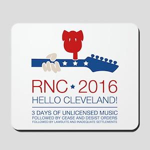 rnc convention Mousepad
