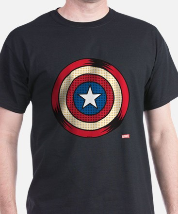 Captain America Comic Shield T-Shirt