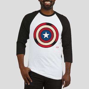Captain America Comic Shield Baseball Jersey