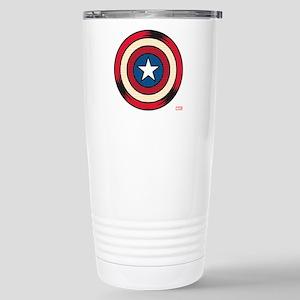 Captain America Comic S Stainless Steel Travel Mug