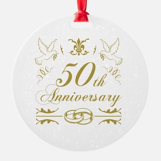 Unique Anniversary Ornament