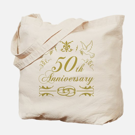 Cute 50th anniversary Tote Bag