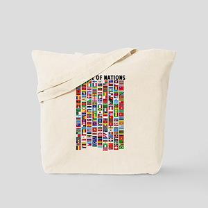 Parade of Nations Tote Bag