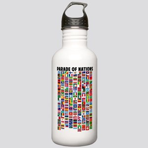 Parade of Nations Stainless Water Bottle 1.0L