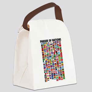 Parade of Nations Canvas Lunch Bag