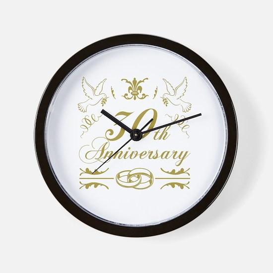 Unique anniversary Wall Clock