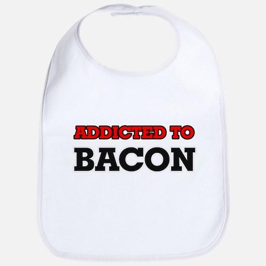 Addicted to Bacon Bib