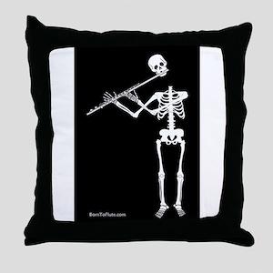 Ghoul Alto Fltue Throw Pillow