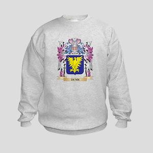 Dunn Coat of Arms (Family Crest) Kids Sweatshirt