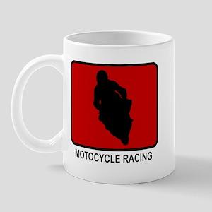 Motocycle Racing (red) Mug