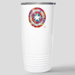 Captain America Tie-Dye Stainless Steel Travel Mug