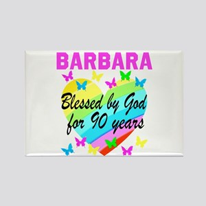 BLESSED 90TH Rectangle Magnet
