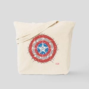Captain America Shield Bling Tote Bag