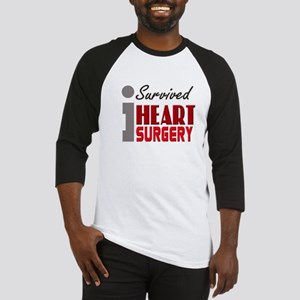 isurvived-heartsurgery Baseball Jersey